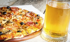 Luna Pizza: $16 for $30 Worth of Pizza, Grinders, and Calzones at Luna Pizza in West Hartford