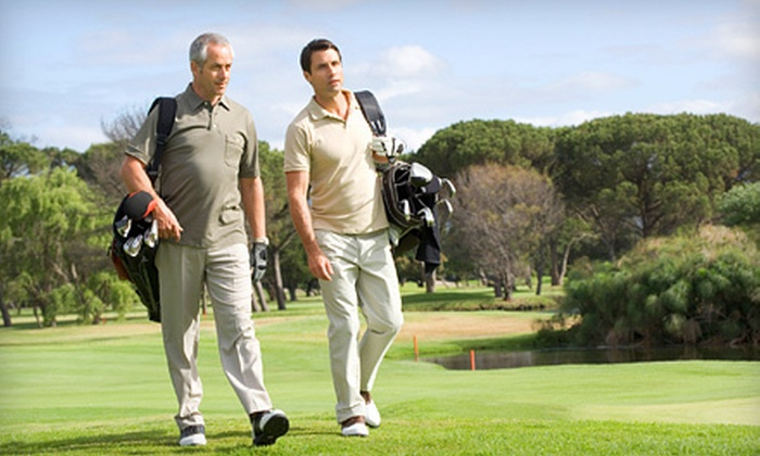 Parkshore Golf Club - Brampton: 9 or 18 Holes of Golf for Two at Parkshore Golf Club (Up to Half Off)