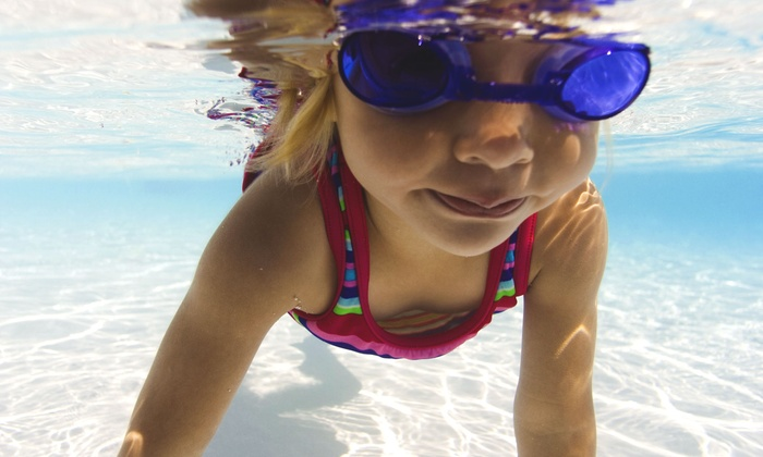 River's Edge Retreat - Northwest Columbia: Four or Eight Small Group Swimming Lessons at River's Edge Retreat (Up to 55% Off)