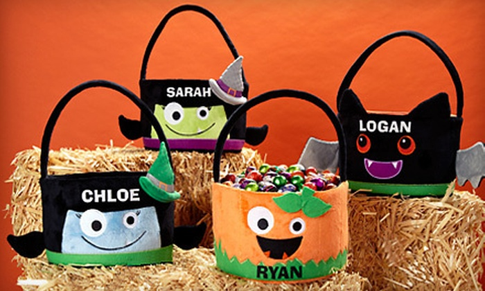 Personal Creations: $15 for $30 Worth of Personalized Gifts or Personalized Goofy Goblin Halloween Basket from Personal Creations