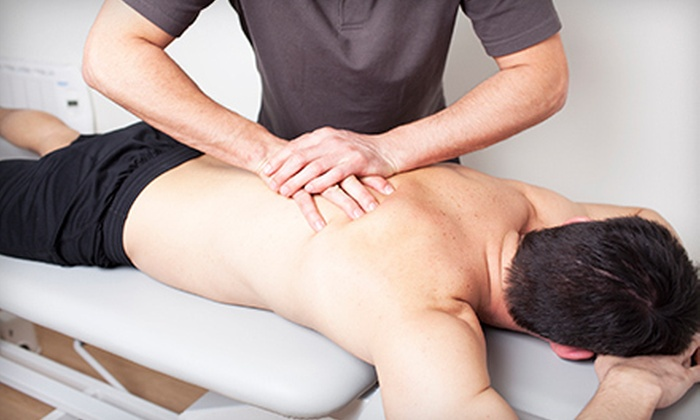 USA Massage & Chiropractic - West New York: Chiropractic Exam with Hydromassage and One or Two Spinal Adjustments at USA Massage & Chiropractic (Up to 79% Off)