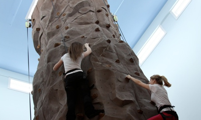 Bayville Adventure Park - Bayville: Rock Climbing, Fun House Entry, and Arcade Credit for 2 or 15 at Bayville Adventure Park (Up to 53% Off)