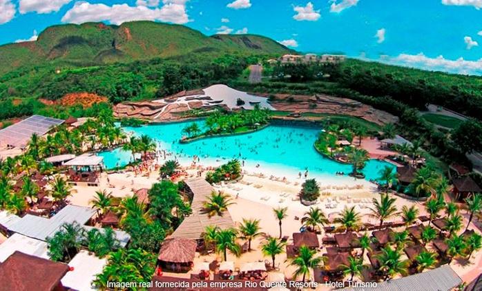 Rio Quente Resorts Turismo: até 7 noites para 2 + meia pensão e acesso ao Hot Park – Digite RIOQUENTE para 10%OFF