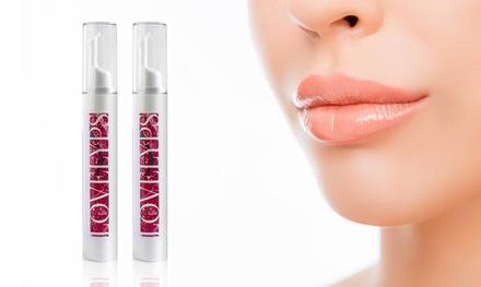 Soin volume lèvres à lacide hyaluronique, Lovelyps