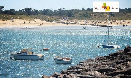 Proche Royan plages : 1 à 3 nuits en chambre double ou quadruple avec petit déjeuner à l'hôtel Les Atlantes pour 2 ou 4