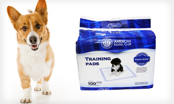 American Kennel Club Puppy-Training Pads: $19.99 for 100 American Kennel Club Puppy-Training Pads ($67.16 List Price). Free Shipping.