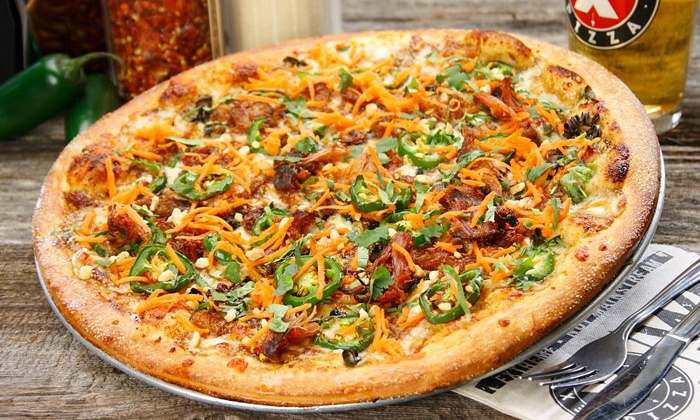 Extreme Pizza - North Clairemont: Pizza, Side Salad, and Beer Meal at Extreme Pizza (Up to 41% Off)