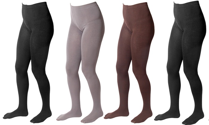 f389a16829614 Up To 60% Off on Muk Luks Ladies' Footed Tights | Groupon Goods
