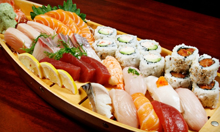 Elevate Restaurant & Lounge - Chinatown: Sushi and New American Cuisine at Elevate Restaurant & Lounge (Half Off). Three Options Available.