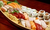 Half Off Sushi and New American Cuisine at Elevate Restaurant & Lounge
