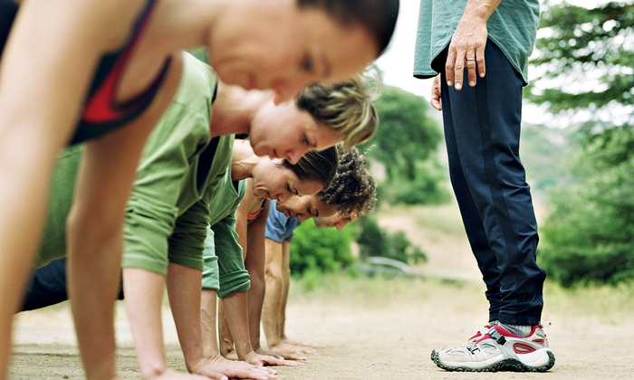 Gut Check Fitness LA - West Hills: Outdoor Boot-Camp Classes at Gut Check Fitness LA (Up to 74% Off). Three Options Available.