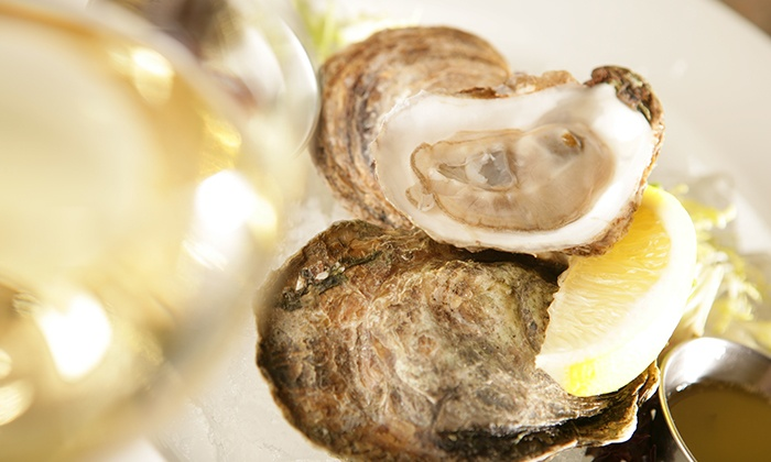 King Crab Oyster Bar & Grill - King Street Trio Uptown: C$25 for C$50 Worth of Seafood and Drinks at King Crab Oyster Bar & Grill
