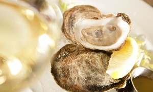 King Crab Oyster Bar & Grill: CC$25 for CC$50 Worth of Seafood and Drinks at King Crab Oyster Bar & Grill