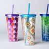 $9.99 for a Two-Pack of Tumblers with Straws