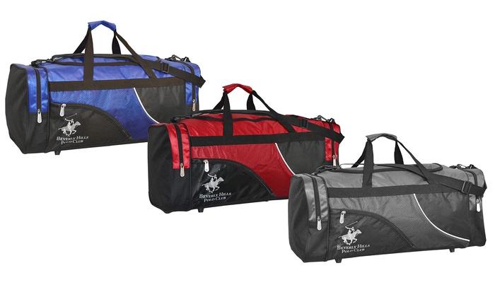 """24"""" Duffel Bag: 24"""" Duffel Bag in Gray, Red, or Royal Blue. Free Returns."""
