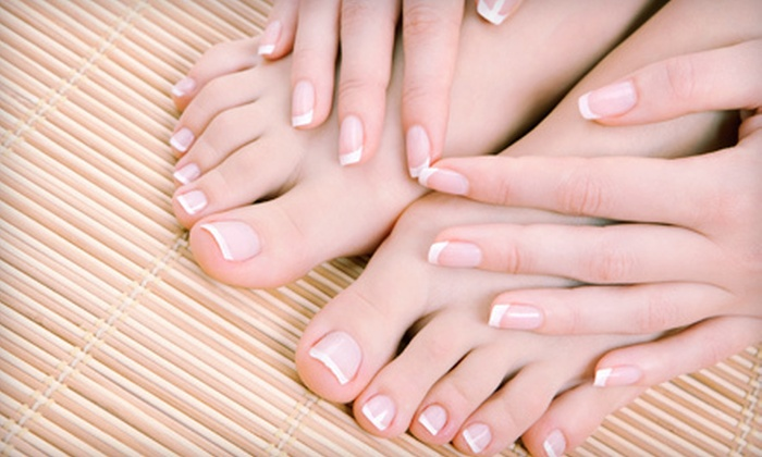Salon DeClasse - Blue Springs: One or Two Mani-Pedis with a Sugar Scrub at Salon De Classe in Blue Springs (Up to 52% Off)