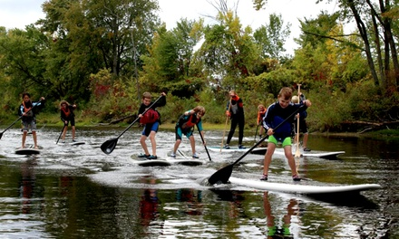 90-Minute Stand-Up Paddleboarding Rental, Tour, Fitness Class, or Yoga Class from Liquid Skills (Up to 45% Off)