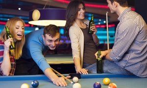 Carom Cafe Billiards: One Hour of Billiards for Two or Four with Beer and Appetizers at Carom Cafe Billiards (50% Off)
