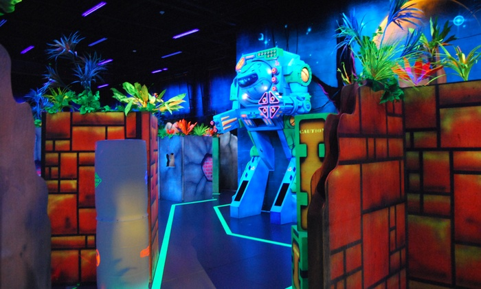 JNJ Battlequest - Gainesville: Full Day of Laser Tag for One, Two or Four, or 4 or 10 Games of Laser Tag at JNJ Battlequest (Up to 50% Off)