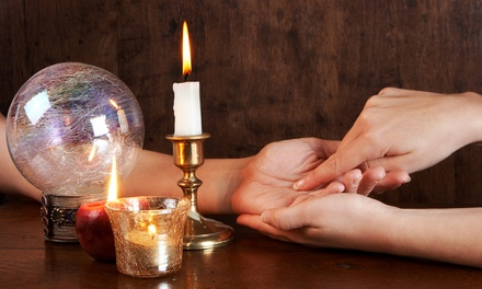 One or Two Psychic Packages with Aura, Palm, and Tarot-Card Reading at Psychic Readings by Rose (Up to 86% Off)