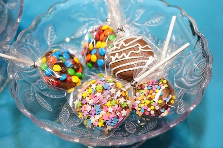 $14 for One Dozen Chocolate-Covered Cookie Pops at Sweet Equations ($24 Value)
