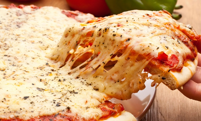 Mama Mia Pizza, Subs, & Wings - Downtown: Carryout Pizza Meals at Mama Mia Pizza, Subs, & Wings (Up to 55% Off). Three Options Available.