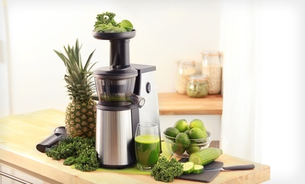 Dash Tall Squeeze Slow Juicer Reviews : Dash Slow Squeeze Juicer - Dash Slow Squeeze Juicer Groupon