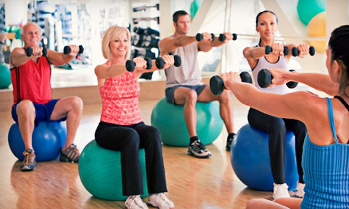 Optimal Sport Health Clubs - Multiple Locations: 5, 10, or 15 Fitness Classes or Gym Visits at Optimal Sport Health Clubs (Up to 84% Off)