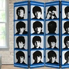 "The Beatles 71"" Double Sided Folding Room Dividers"