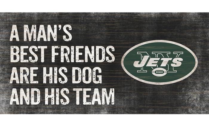 New York Jets Man's Best Friend Signs: New York Jets Man's Best Friend Signs