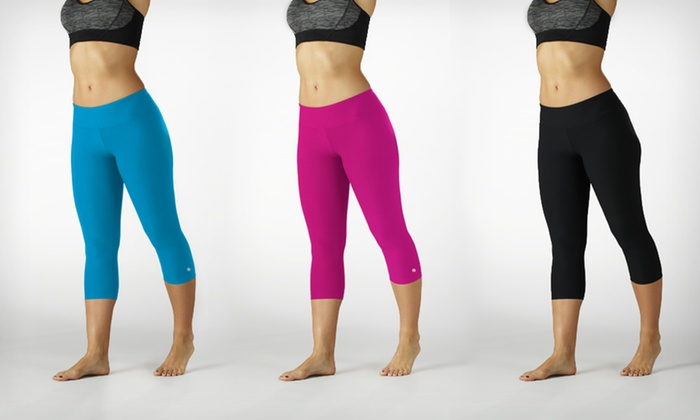 Bally Total Fitness Slim-Fit Performance Capri Leggings: $16.99 for Bally Total Fitness Slim-Fit Capri Leggings ($50 List Price). 5 Colors Available. Free Shipping/Returns.