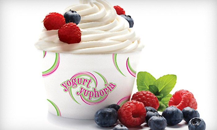 Yogurt Yuphoria - Greenwood Village: $10 for $20 Worth of Frozen Yogurt at Yogurt Yuphoria