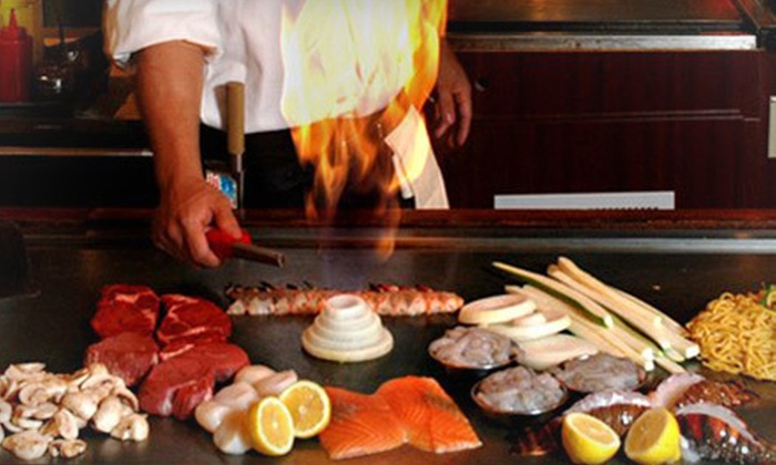 Fuji Japanese Steakhouse - Garner: Japanese Food at Fuji Japanese Steakhouse for Lunch, Dinner, or Dinner for Four or More (Up to 53% Off)
