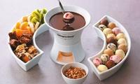 Häagen-Dazs Schokoladen-Fondue mit Heißgetränk für 2 oder 4 Personen bei Häagen-Dazs am Liebfrauenberg (bis 34% sparen*)