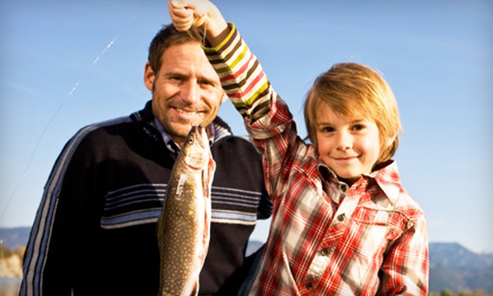 Pocono Fishing Adventures - Towamensing: Three-Hour Fishing Charter or an All-Day Fishing Tour for Up to Six from Pocono Fishing Adventures (Up to 53% Off)