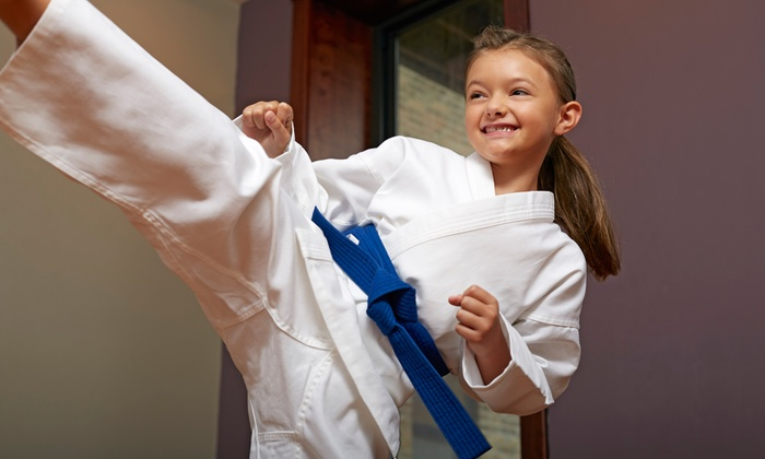 One Month of Classes or 90-Minute Children's Birthday Party at Family Tae Kwon Do Champions (Up to 70% Off)