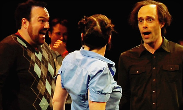Huge Theater - Huge Improv Theater: Improv-Comedy Performance for Two or Four with Drinks at Huge Theater (Up to 58% Off)