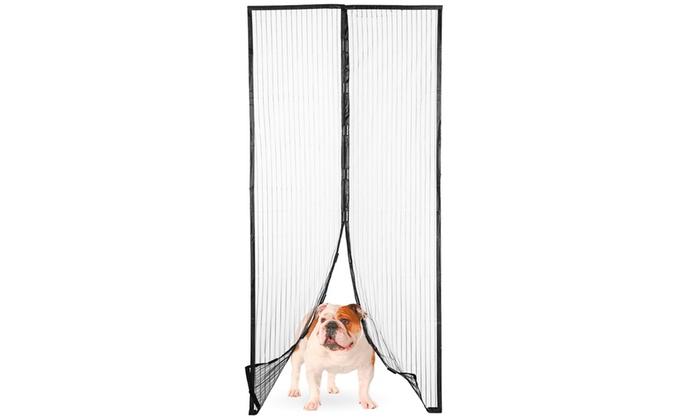 Magnetic Mesh Door Curtain Groupon Goods