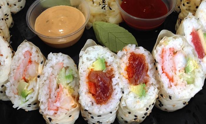 Wasabi Juan's - Forest Park: Sushi Platter for 10 or 20 at Wasabi Juan's (40% Off)
