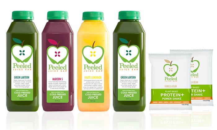 Peeled: $125 for 3-Day Juice Cleanse with Overnight Shipping from Peeled Juice Bar ($233 Value)