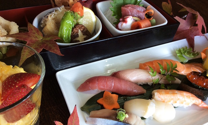 I Love Sushi on Lake Union - South-Lake Union: Chef's Prix Fixe Japanese Dinner for Two at I Love Sushi on Lake Union. Groupon Reservation Required.