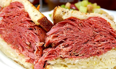 $10 for $20 Worth of Classic Deli Food at D.Z. Akin's