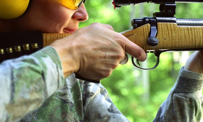McMiller Sports Center - Eagle: Shooting Range Package for Two or Four at McMiller Sports Center (Up to 42% Off)