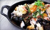 Flex Mussels Cooking Class - Flatiron District: $75 for a Cooking Demo and Three-Course Seafood Dinner from Flex Mussels Benefiting City Harvest ($125 Value)