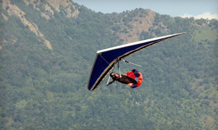Mission Soaring Center - Tres Pinos: Introductory Hang-Gliding Lesson for One or Two at Mission Soaring Center (Up to 50% Off)