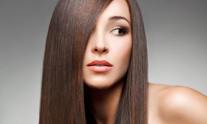 Salon Beauty Line - Warszawa (Mokotów): Amerykańskie fale lub keratynowe prostowanie (249,99 zł) badź laminowanie włosów (199,99 zł) w Beauty Line