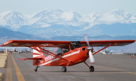 $325 for Aerobatic Flight Experience with Video at Aspen Flying Club ($649 Value)