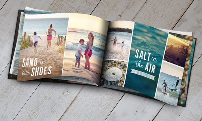 Snapfish: 5x7, 8x11, or 12x12 Custom Photo Book from Snapfish (Up to Half Off)