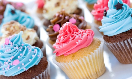 One Dozen Specialty or Custom Cupcakes with Delivery from Sweet D's Cupcakes (Up to 50% Off)