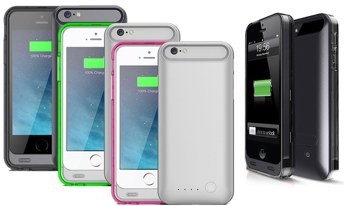 light on iphone iphone 5 5s 6 6 battery groupon goods 1874